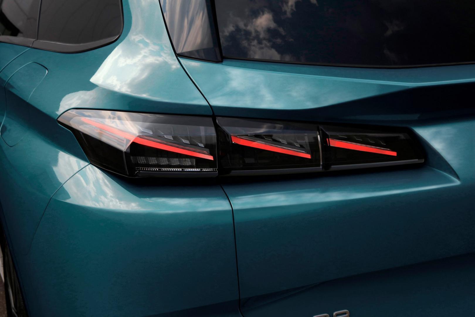 Achterlicht Peugeot 308 SW