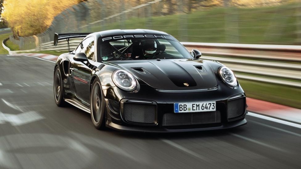 Nieuw Nürburgring-record Porsche 911 GT2 RS