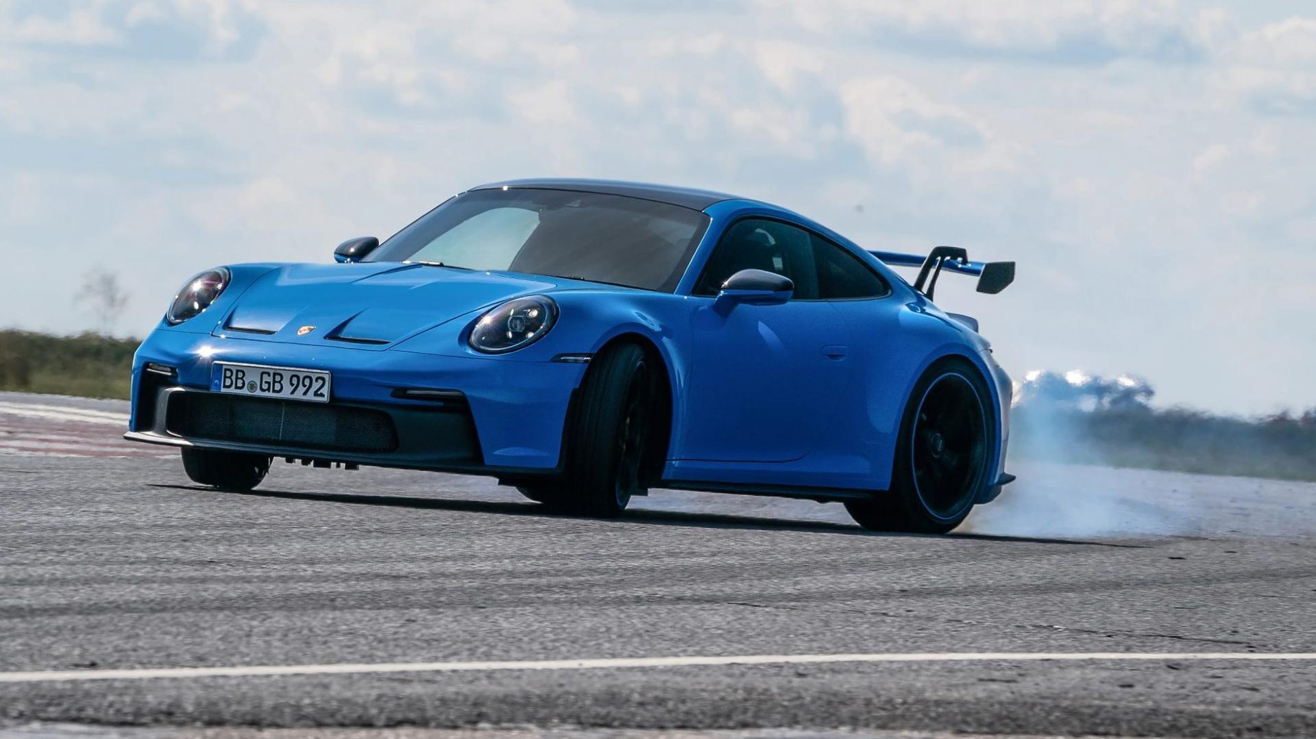 Driften Porsche 911 GT3 (992)