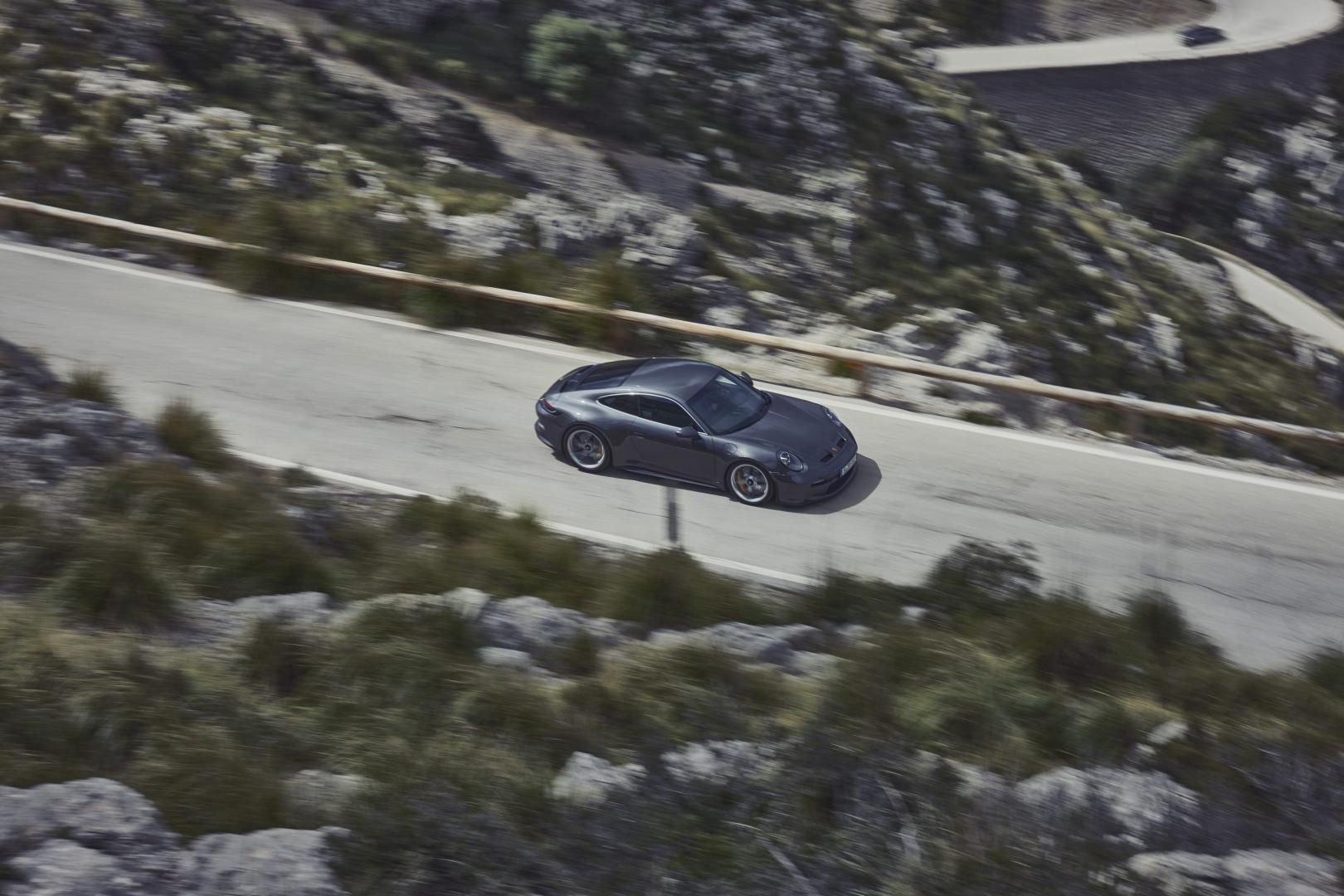 Bovenkant Porsche 911 GT3 Touring