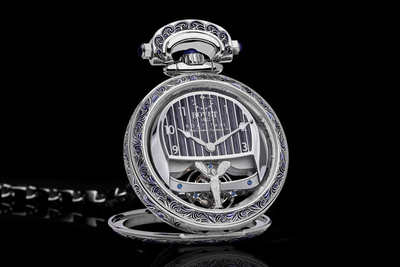 Rolls-Royce Bovet horloge Boat Tail