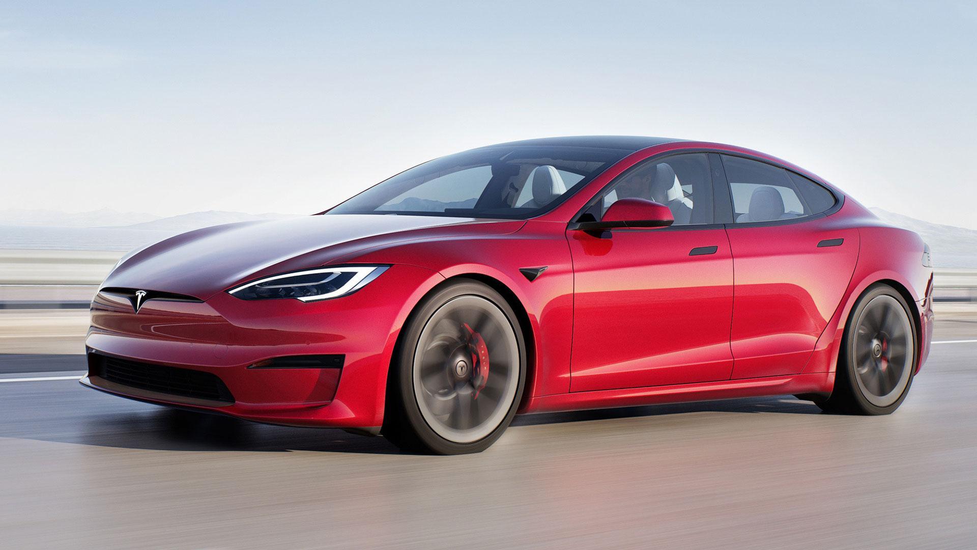 Tesla Model S (2021) Facelift