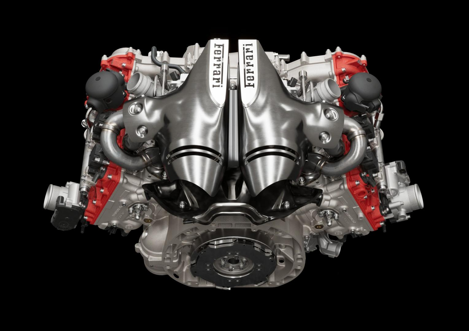 Motor V6 Ferrari 296 GTB