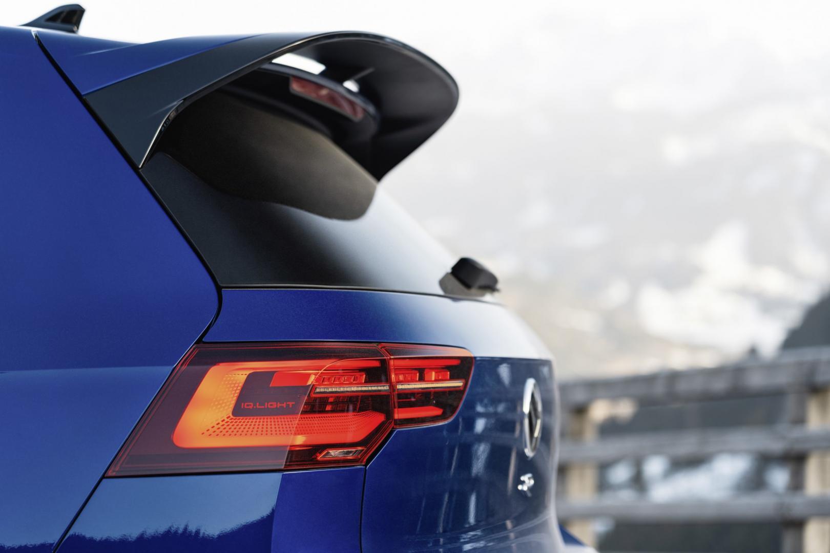 Achterspoiler Volkswagen Golf 8 R 2021