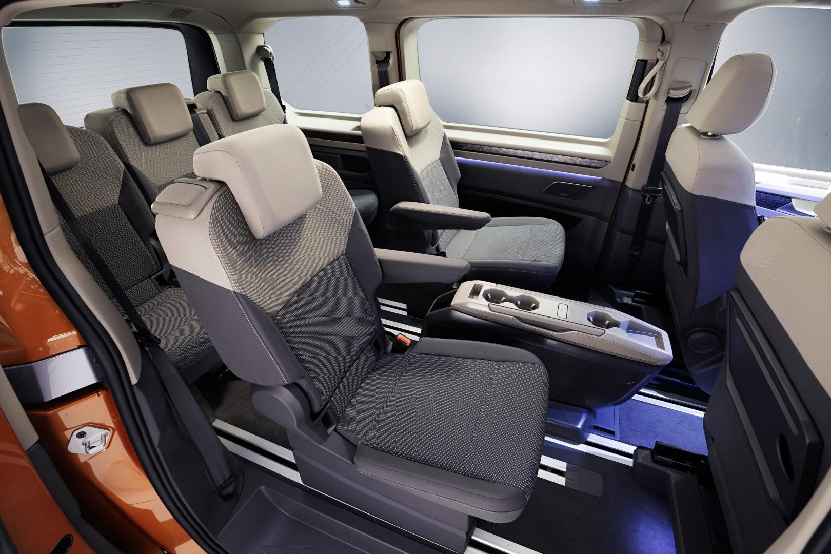 Interieur VW Multivan