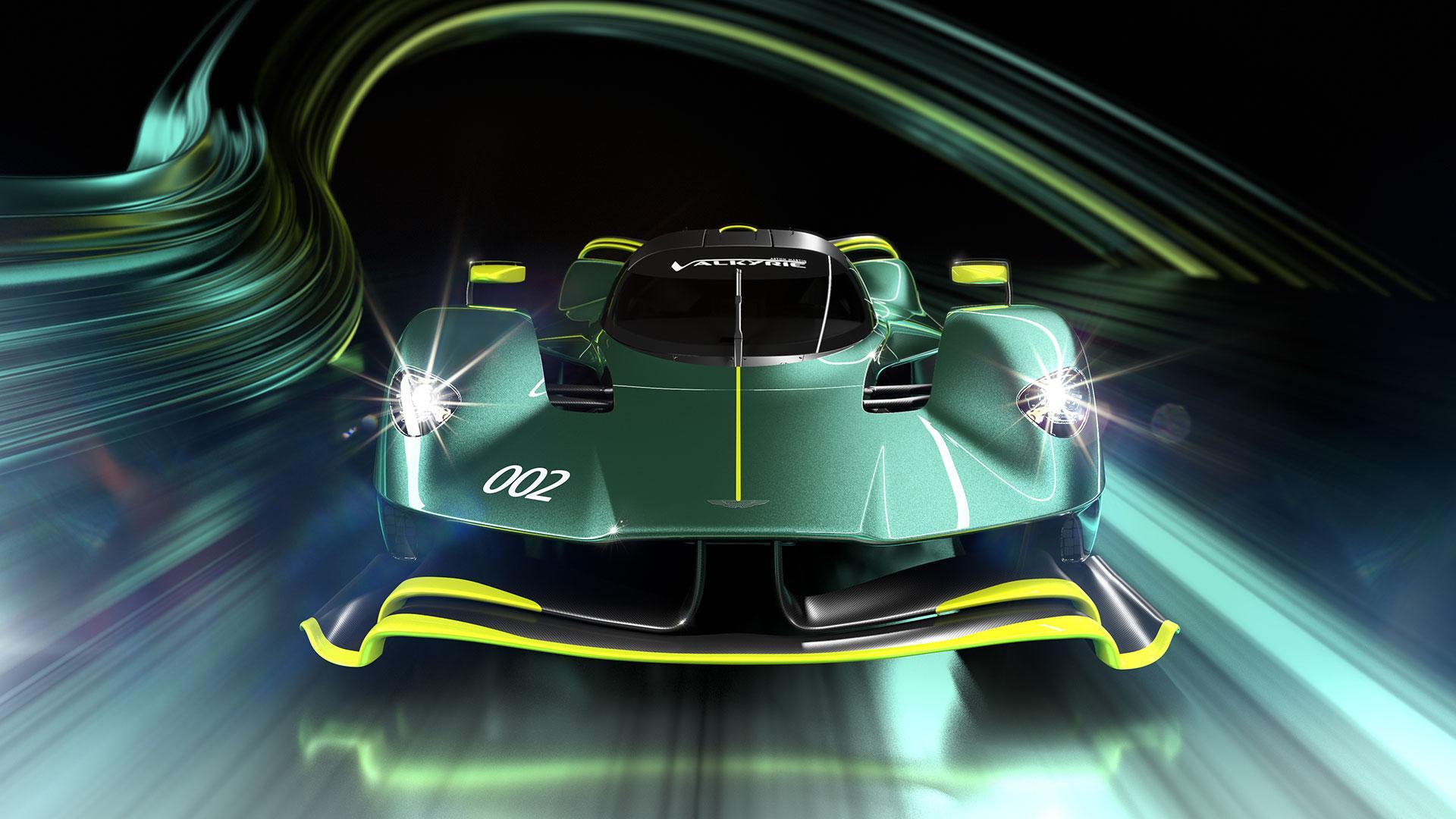 Voorkant Aston Martin Valkyrie AMR Pro