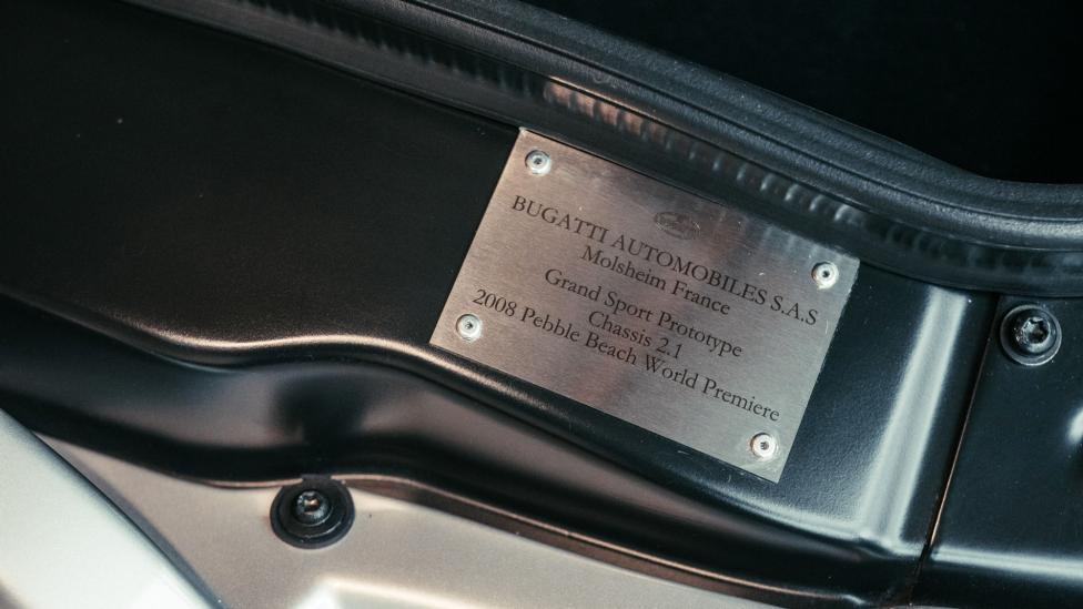 De eerste Bugatti Veyron Grand Sport is gerestaureerd