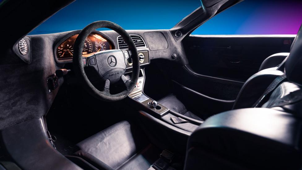 Interieur Mercedes CLK GTR