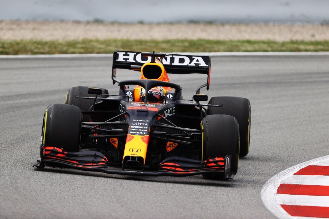 1e vrije training van de GP van Hongarije 2021