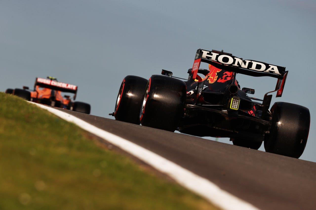2e vrije training van de GP van Groot-Brittannië 2021