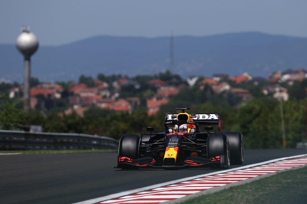 2e vrije training van de GP van Hongarije 2021