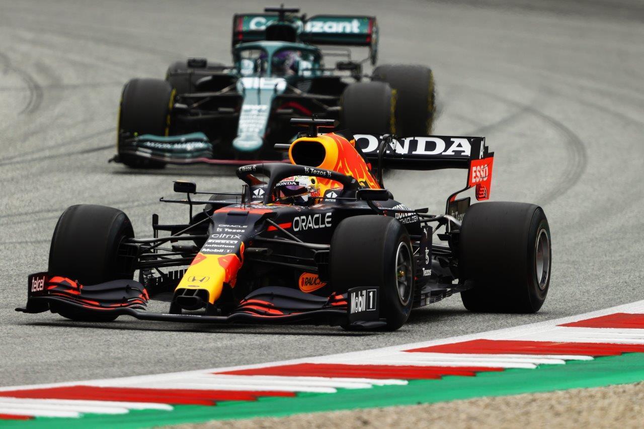 3e vrije training van de GP van Oostenrijk 2021