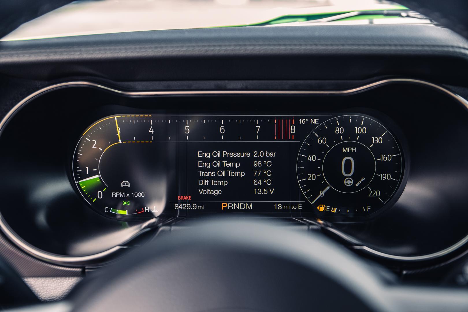 Teller Ford Mustang Shelby GT500