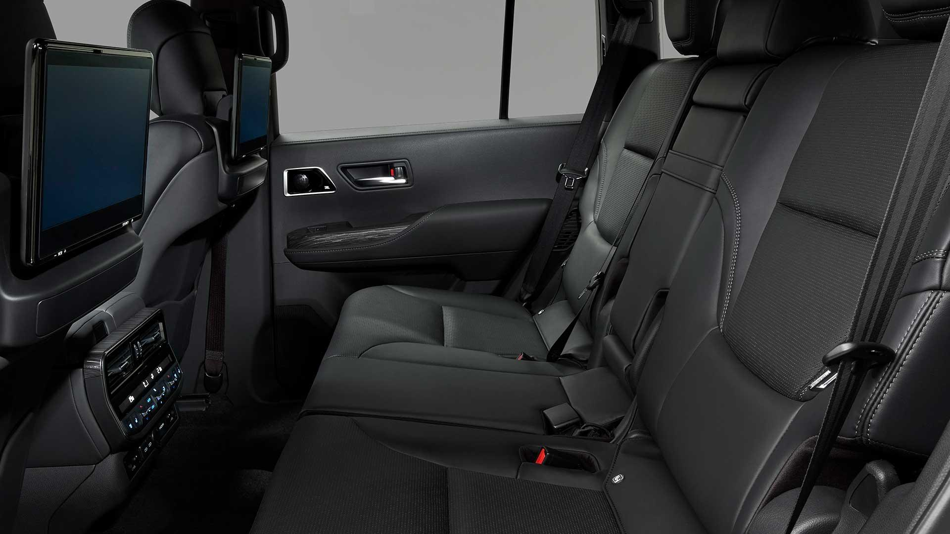 Achterbank Nieuwe Toyota Land Cruiser 300 (2021)