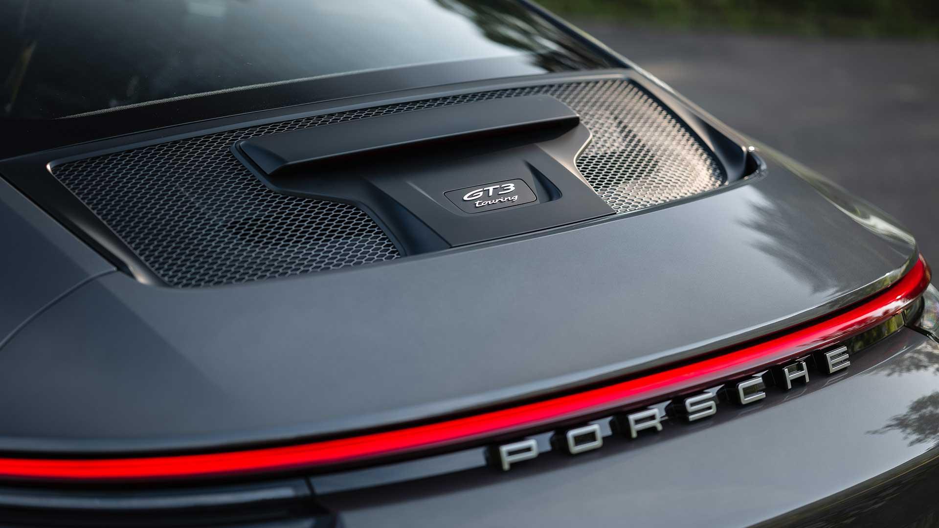Achterklep Porsche 911 GT3 met Touring Package