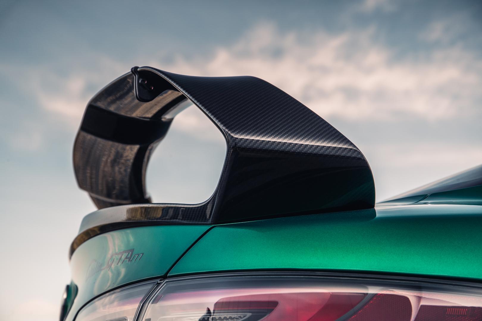 Spoiler Alfa Romeo Giulia GTAm