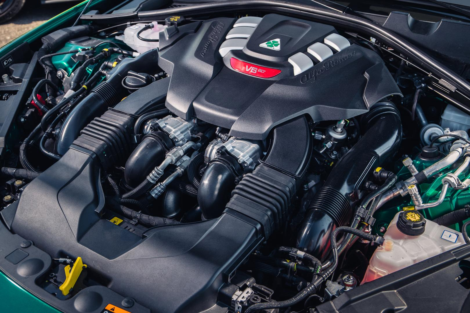 Motor Alfa Romeo Giulia GTAm