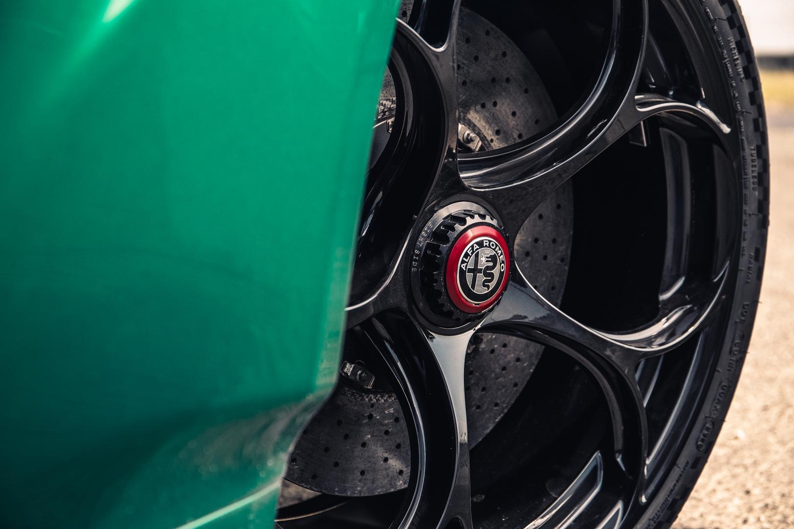 Wielen Alfa Romeo Giulia GTAm