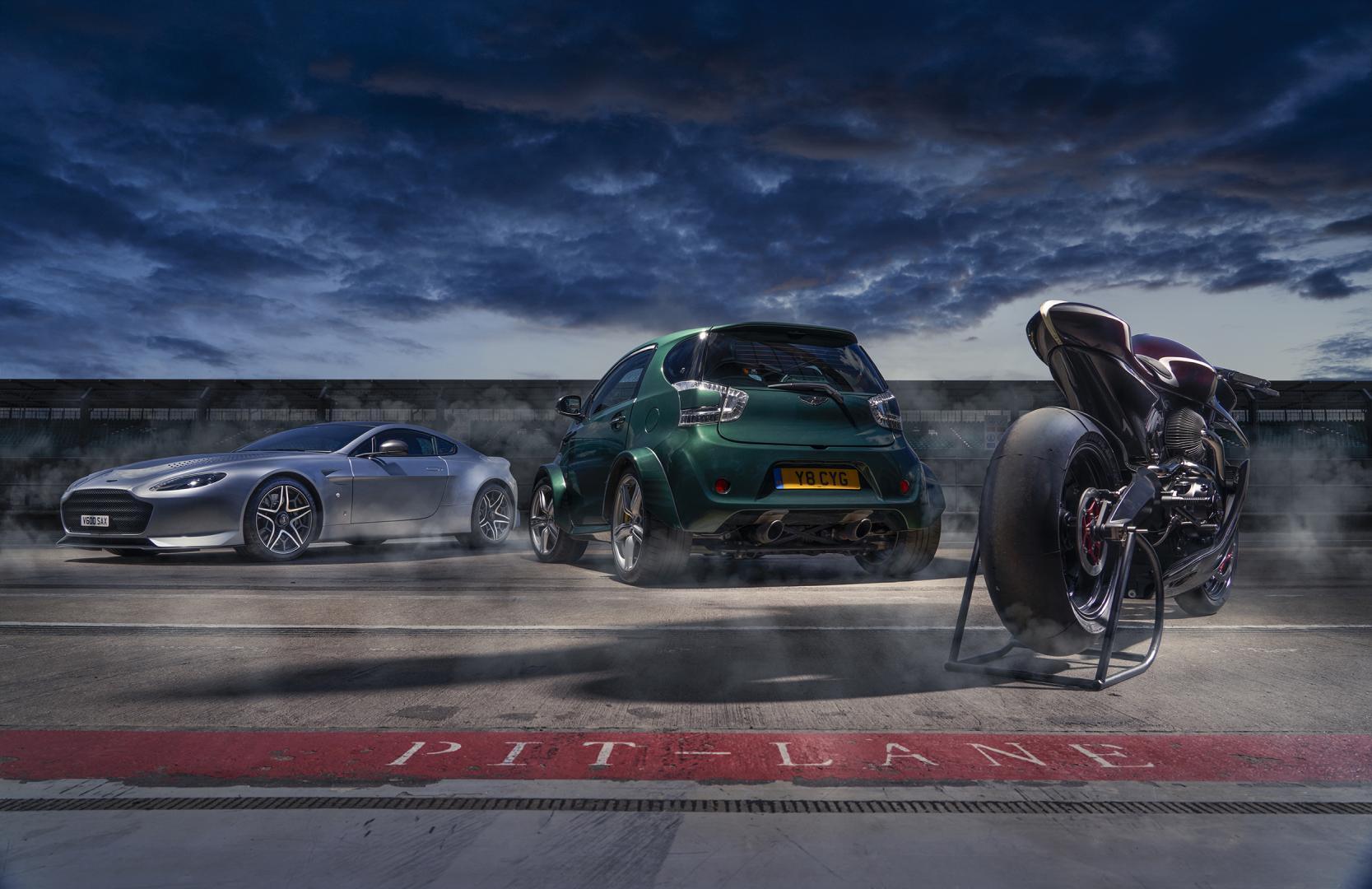 Aston Martin V600 Cygnet AMB 001