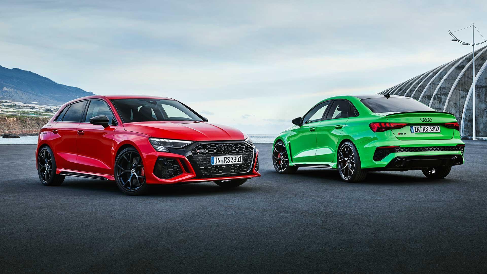Audi RS 3 (2021) Sedan en Hatchback