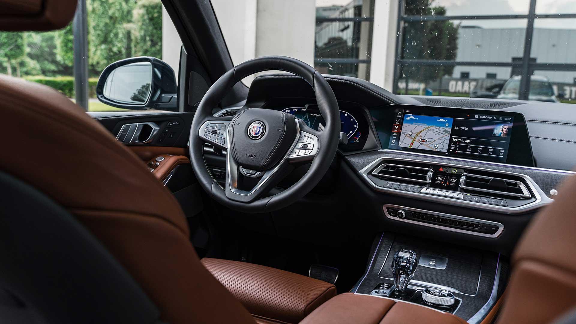 Interieur Alpina XB7 Nederland (BMW)