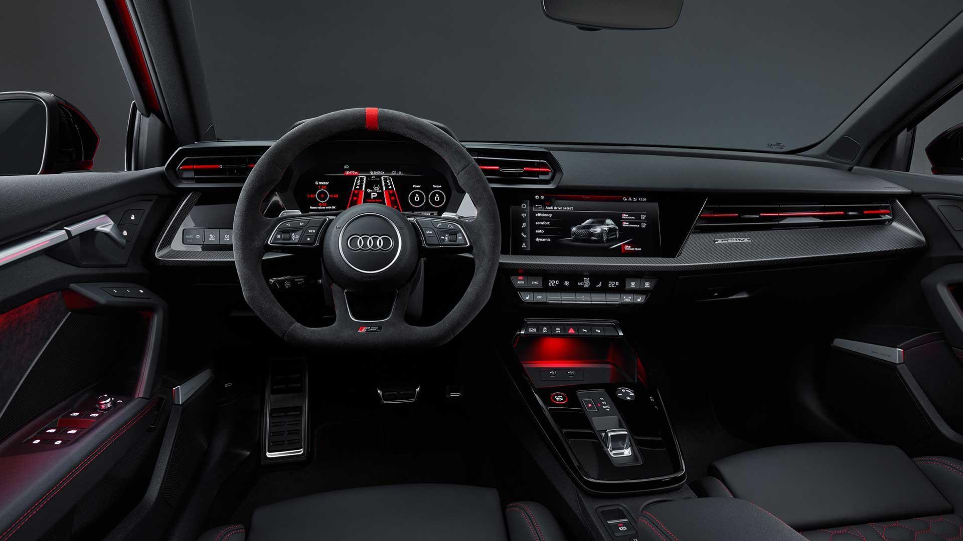 Audi RS 3 (2021) interieur