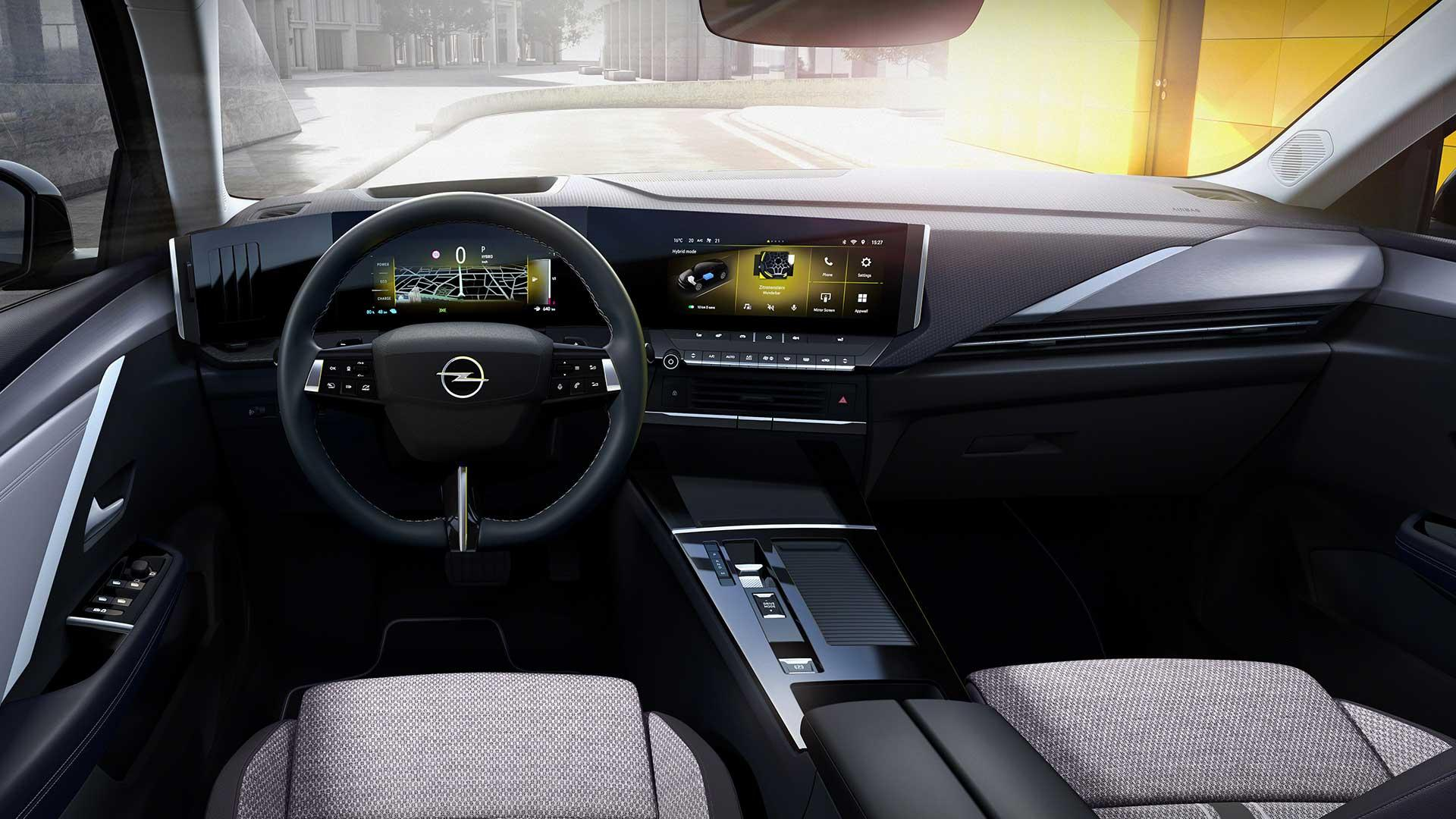 Interieur Opel Astra (2021)