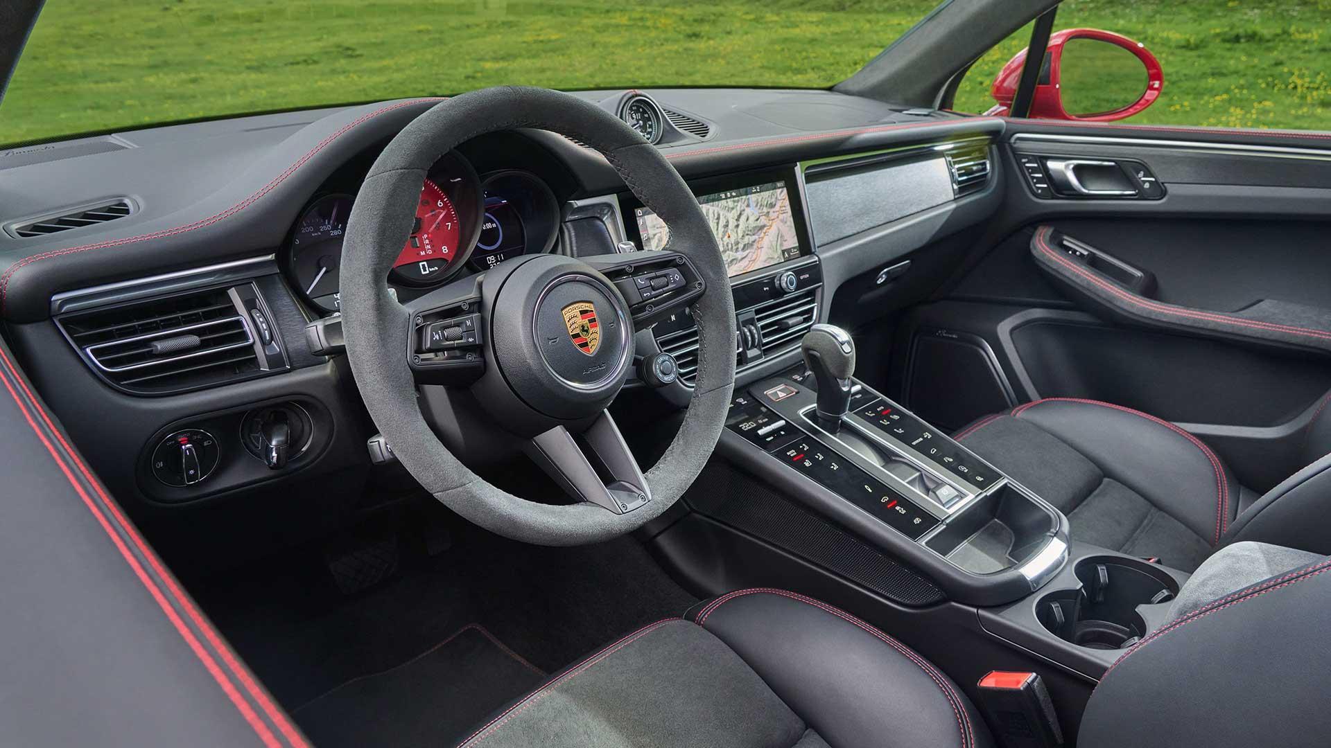 Interieur Porsche Macan GTS Facelift