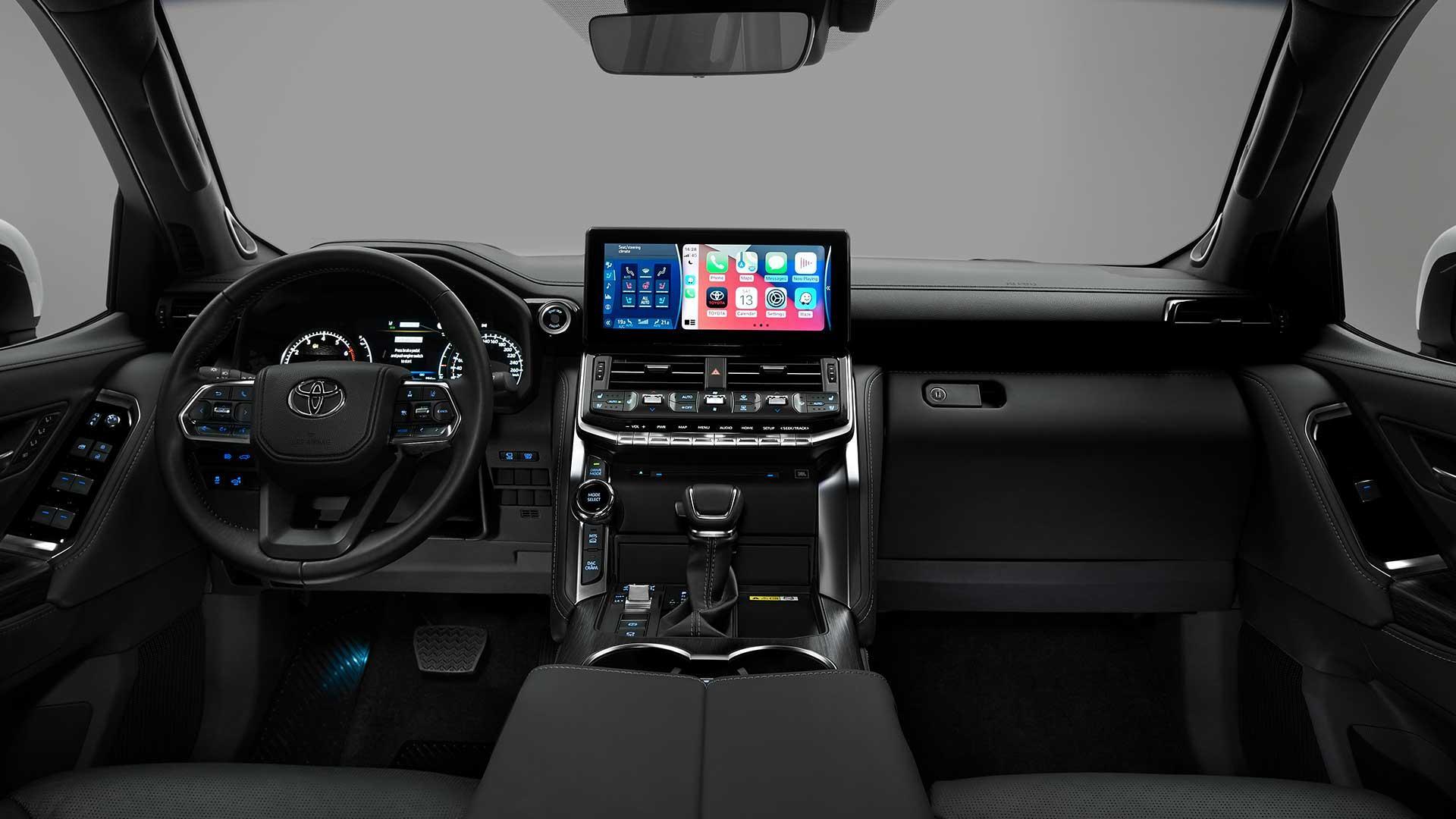 Interieur Nieuwe Toyota Land Cruiser 300 (2021)