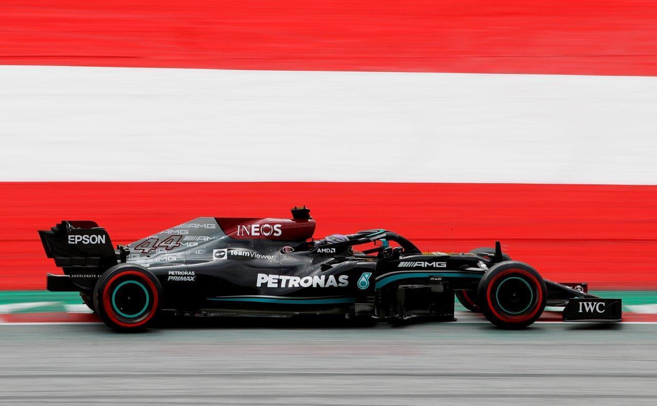 Kwalificatie van de GP van Oostenrijk 2021