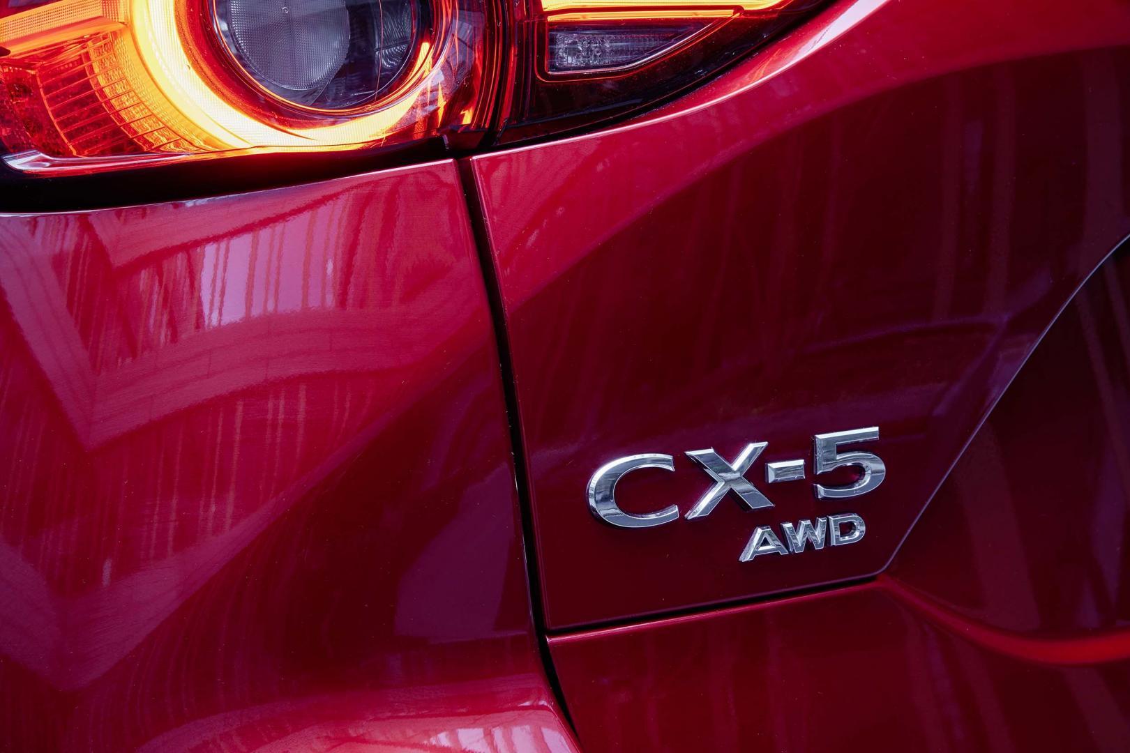 Badge Mazda CX-5 SkyActiv-D