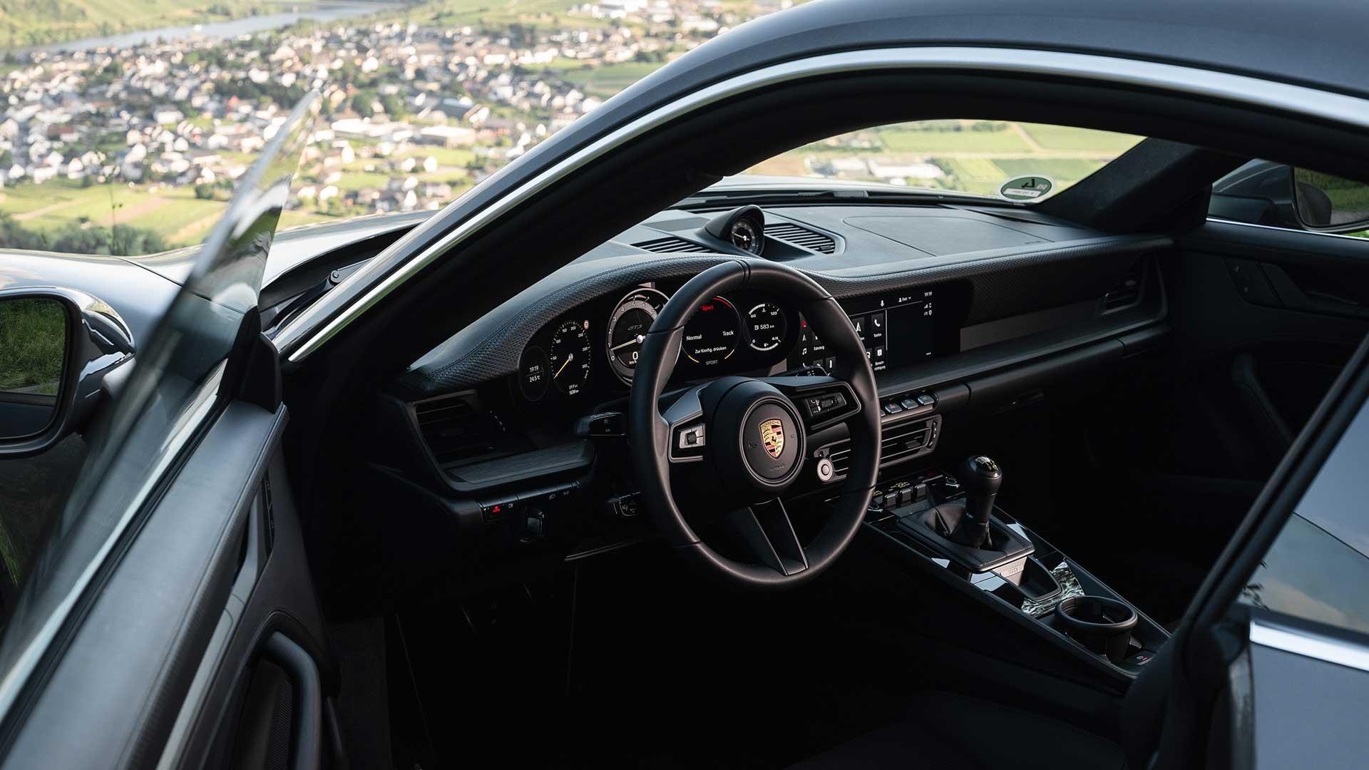 Interieur Porsche 911 GT3 met Touring Package