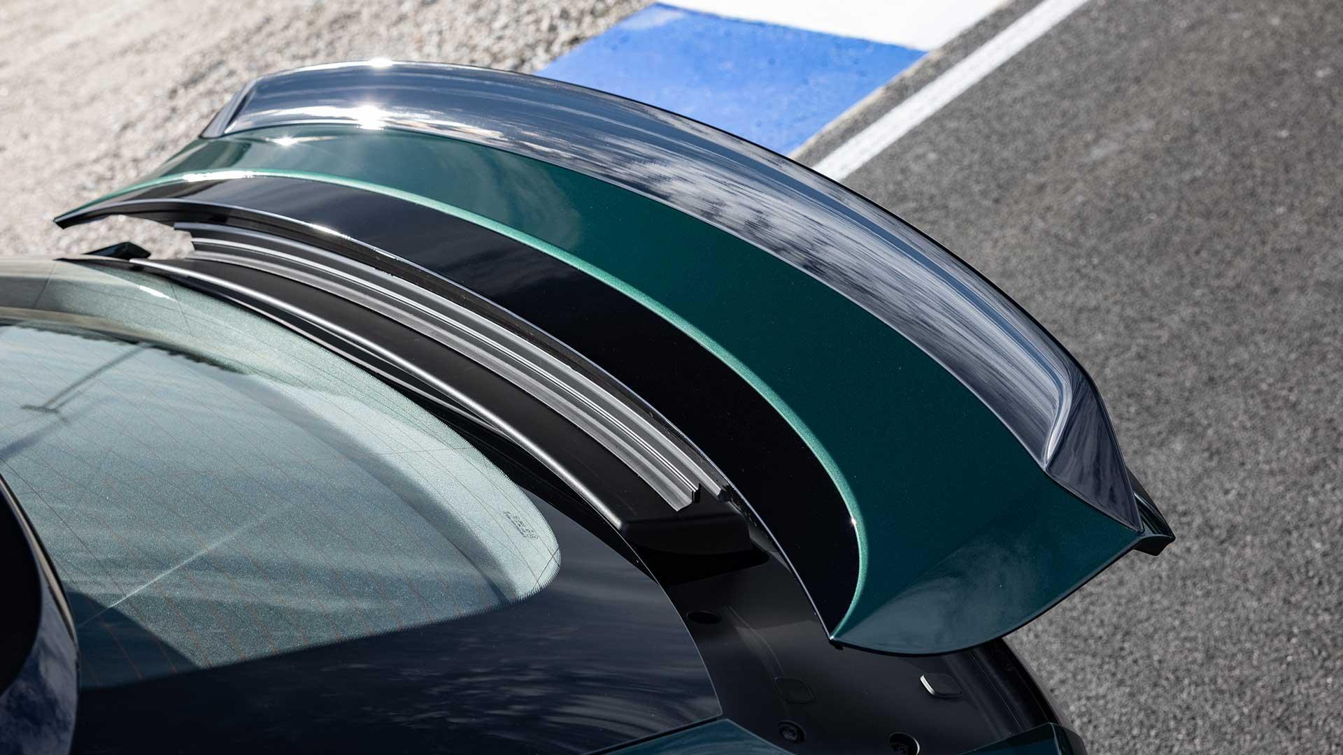 Achterspoiler Porsche Cayenne Turbo GT