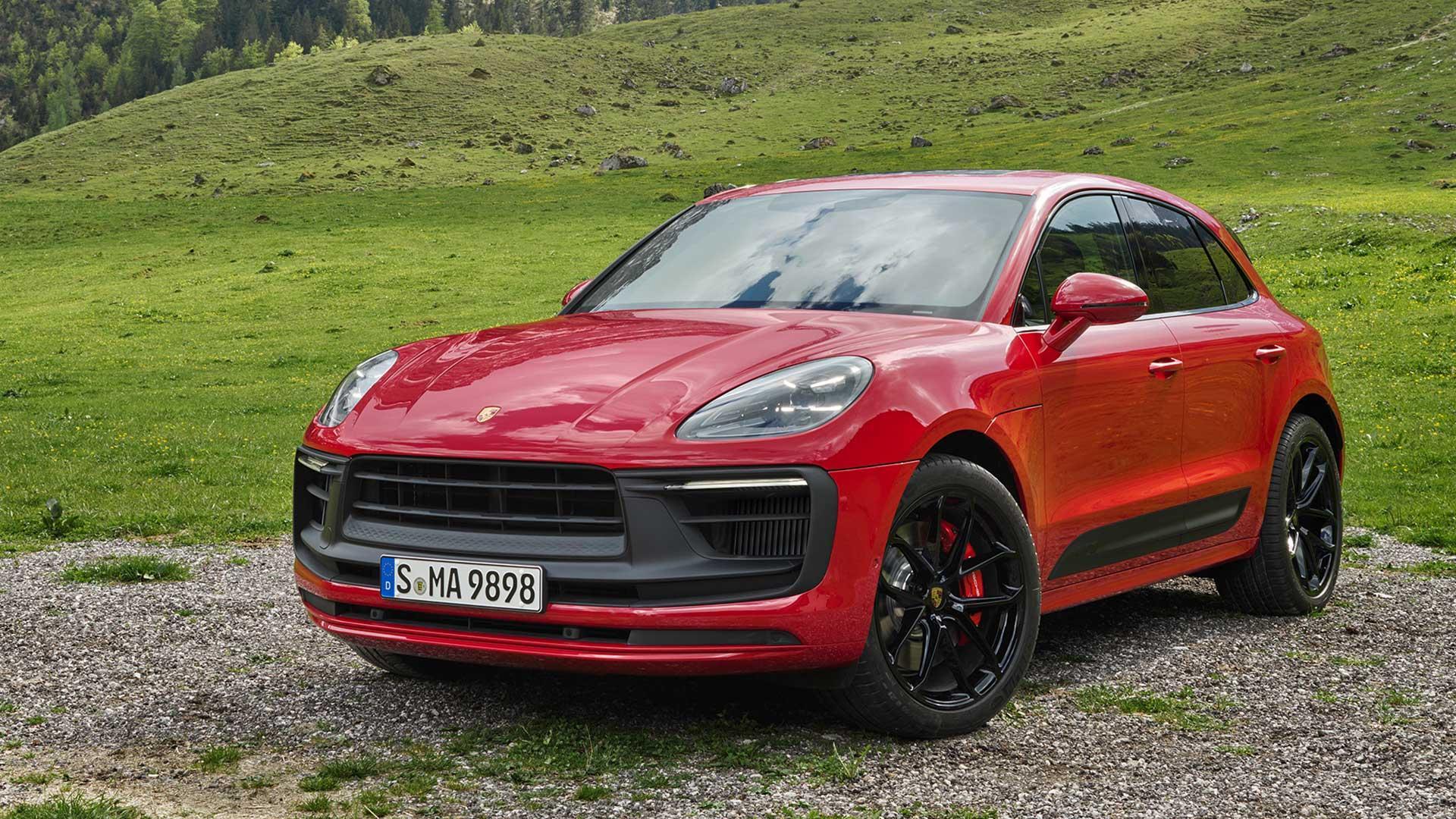 Voorkant Porsche Macan GTS Facelift