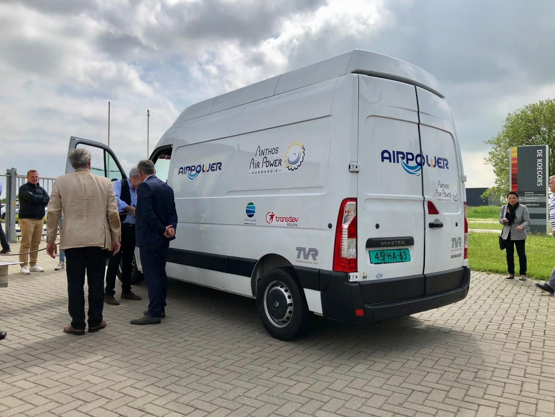 Rijden op lucht met brandstofmotor: SolutionAir