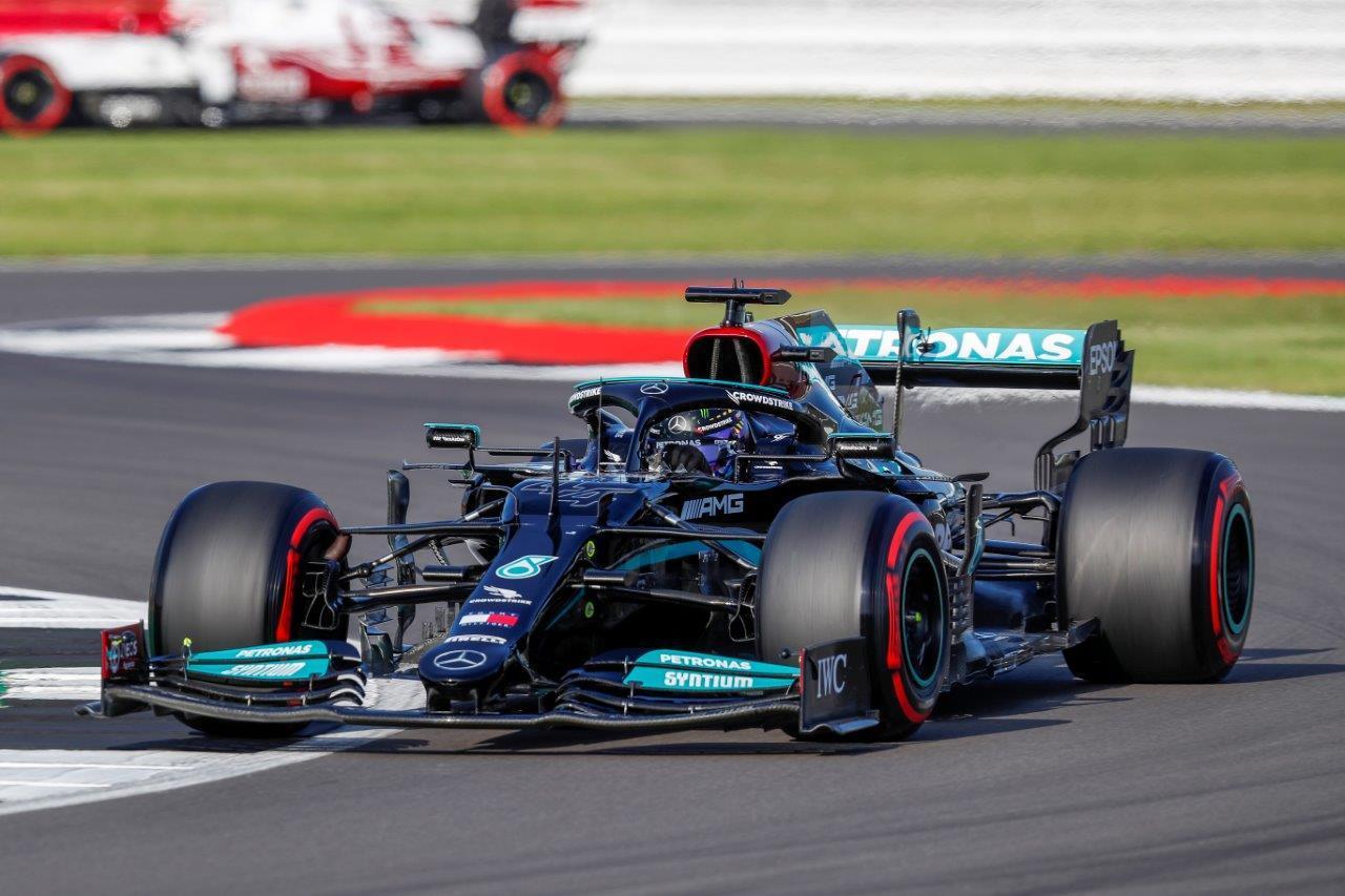 Sprintrace van de GP van Groot-Brittannië 2021