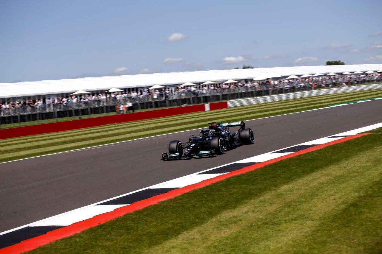 Uitslag van de GP van Groot-Brittannië 2021
