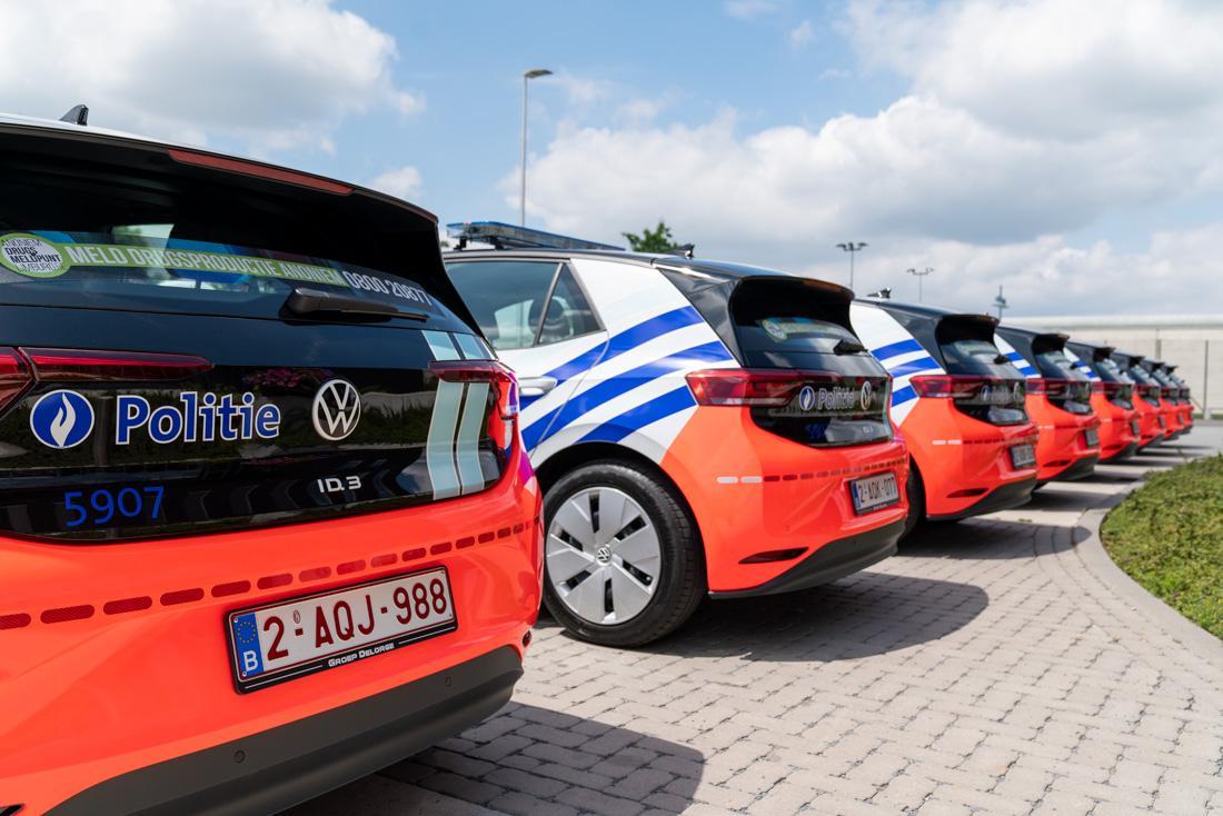 Politie België Volkswagen ID.3