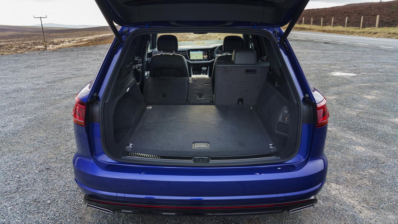 Kofferbak Volkswagen Touareg R eHybrid (2021) (bagage)