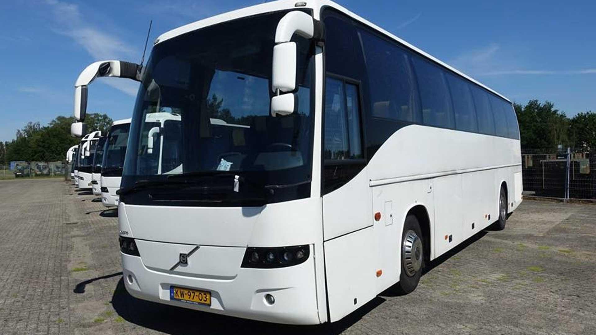 Defensie-bussen VOlvo