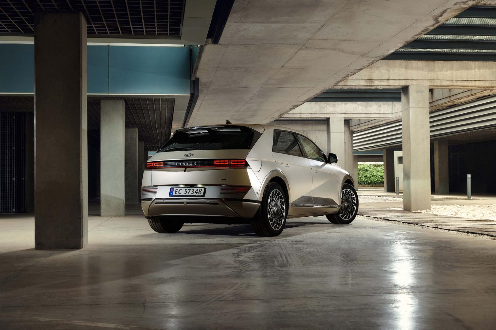 Achterkant Hyundai Ioniq 5