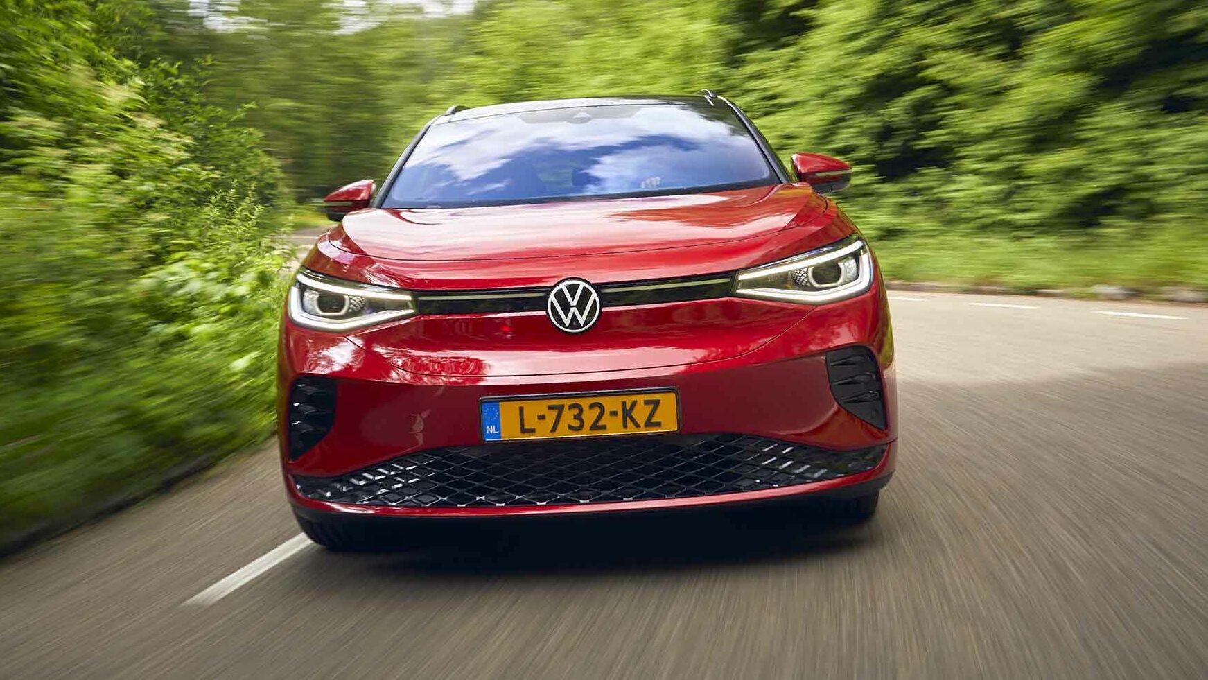 Voorkant Volkswagen ID.4 GTX