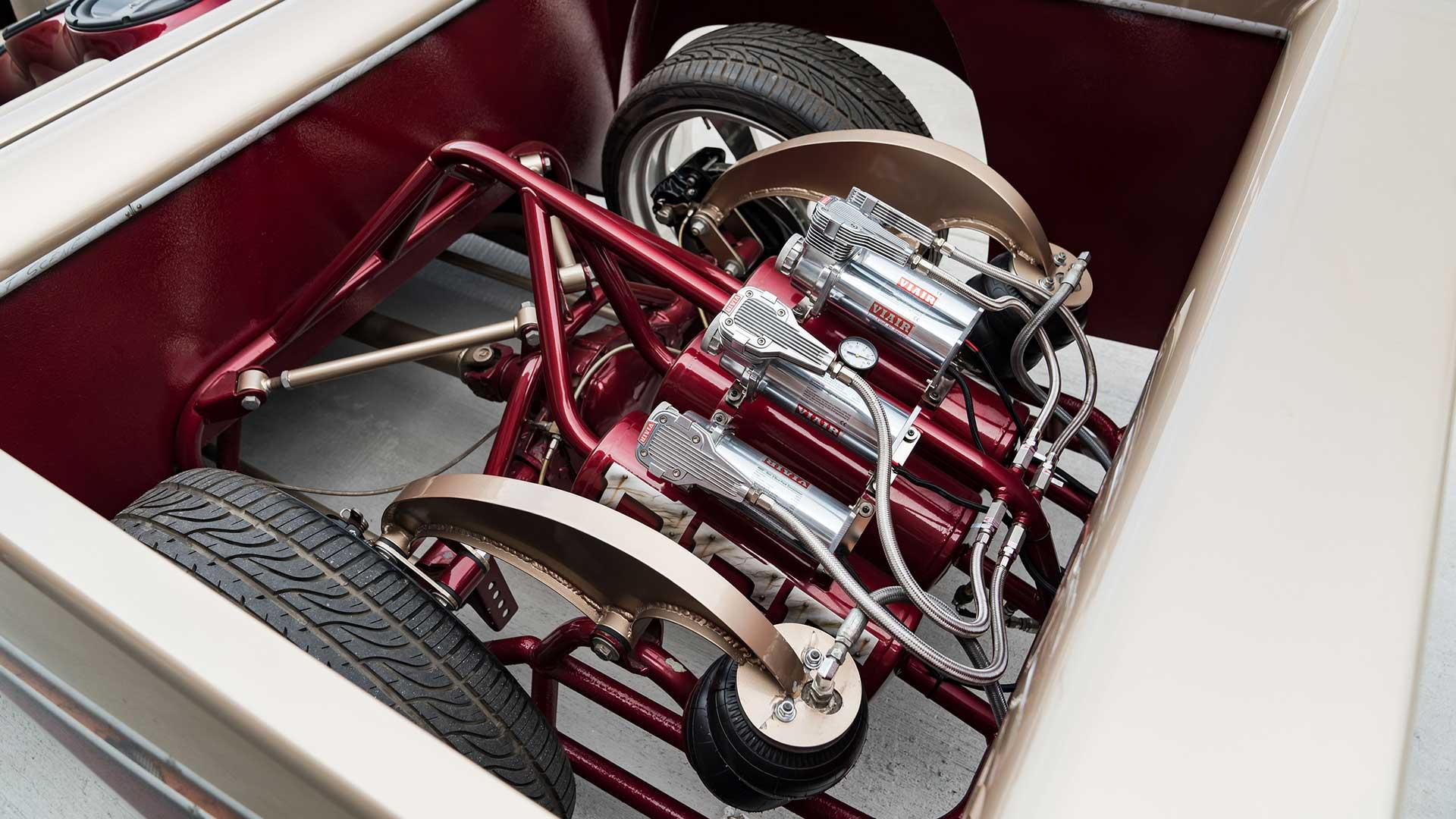 Airride en draagarmen Chevrolet Colorado Custom (Cool Cars Engineering)