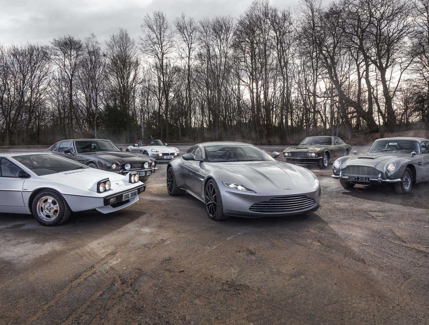 De beste auto's van James Bond bij elkaar