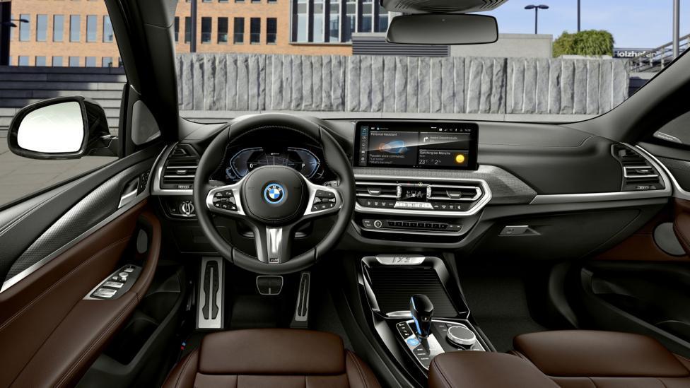 Interieur BMW iX3 (2021) Facelift