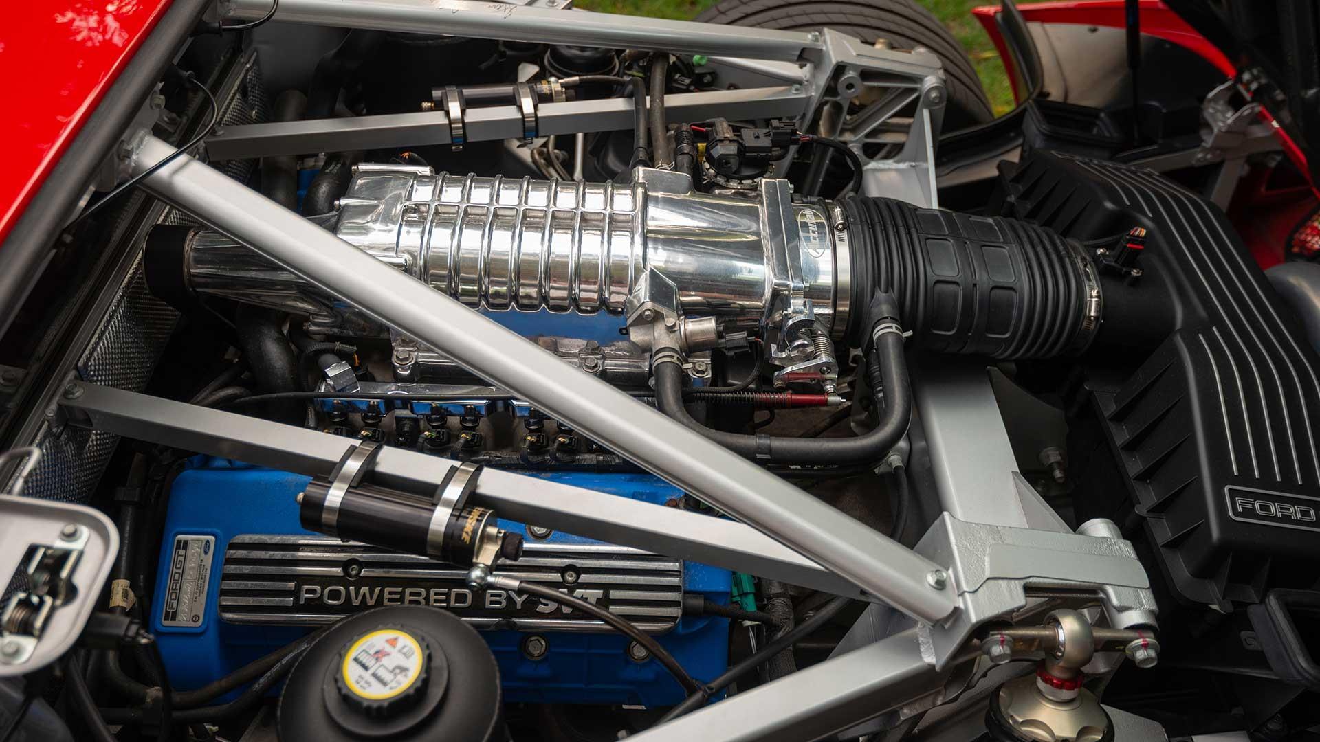 Ford GT van Paul Walker