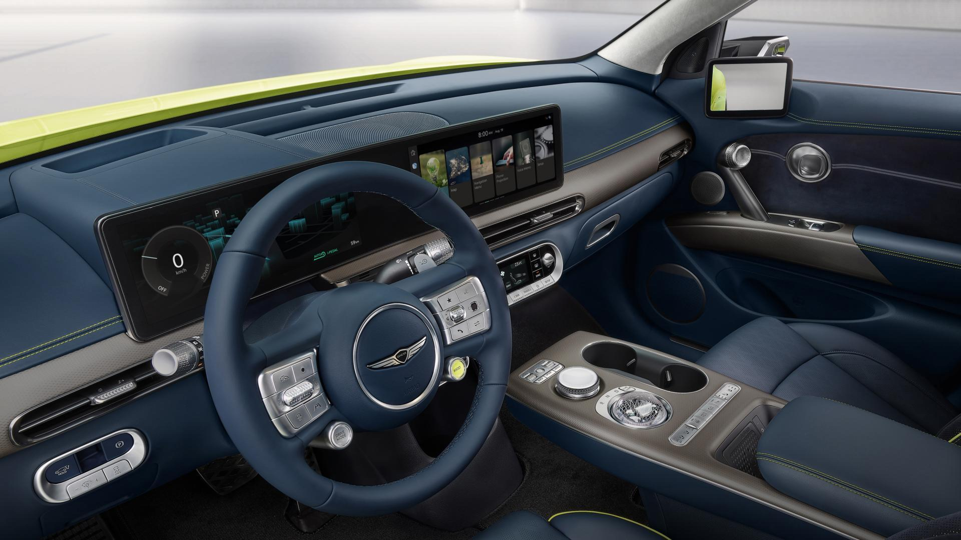 Interieur Genesis GV60 (2021)