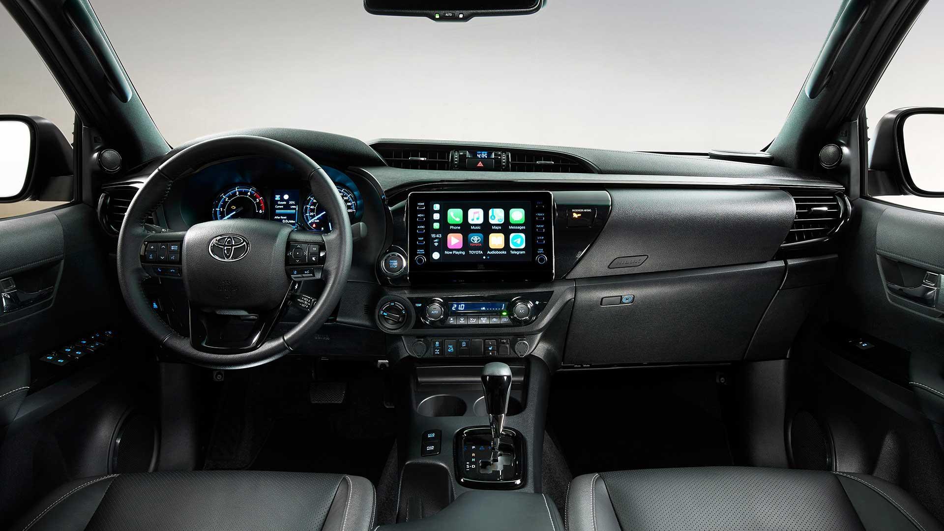Interieur Toyota Hilux Invincible