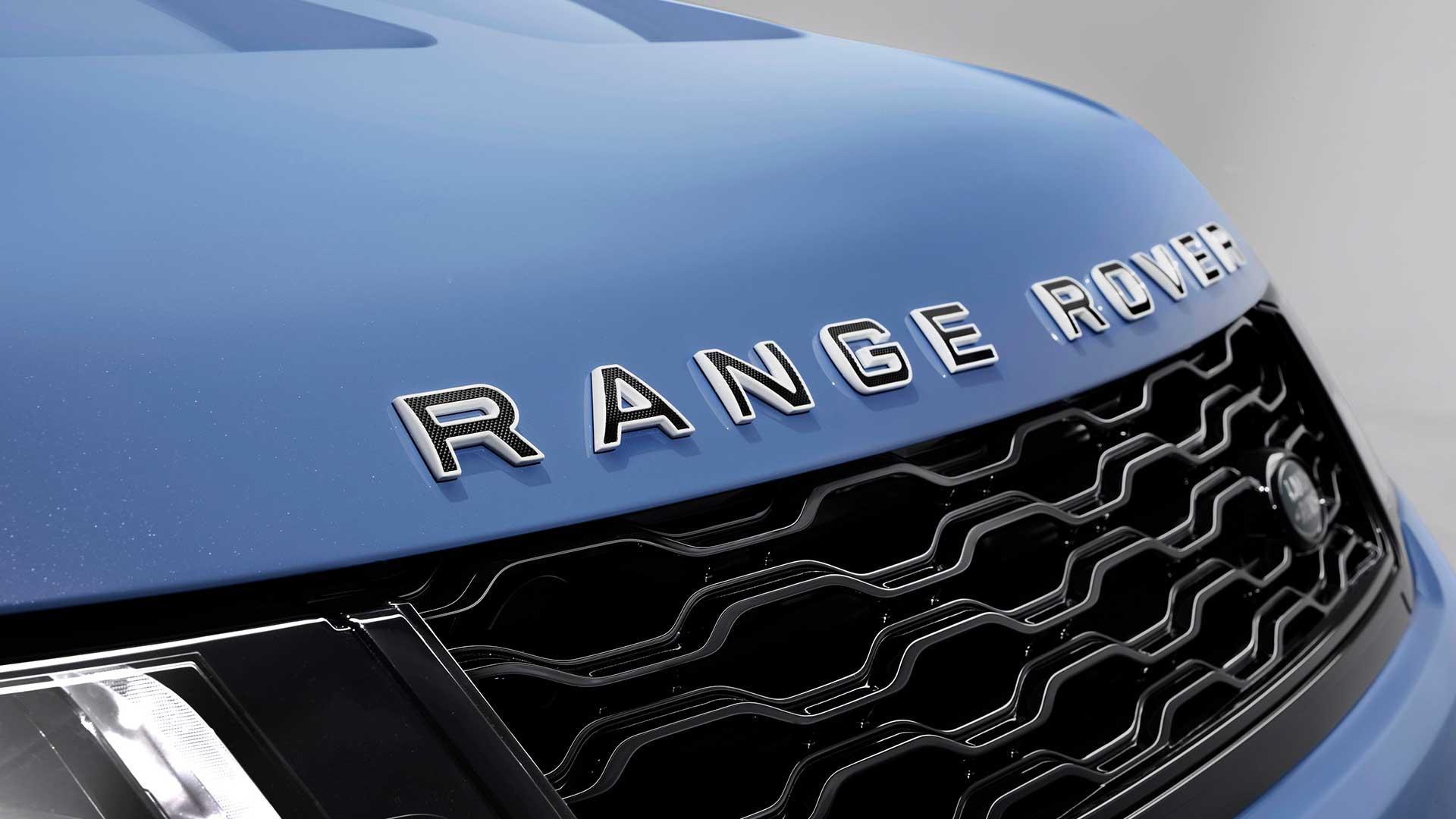 Badge Range Rover Sport SVR Ultimate Edition
