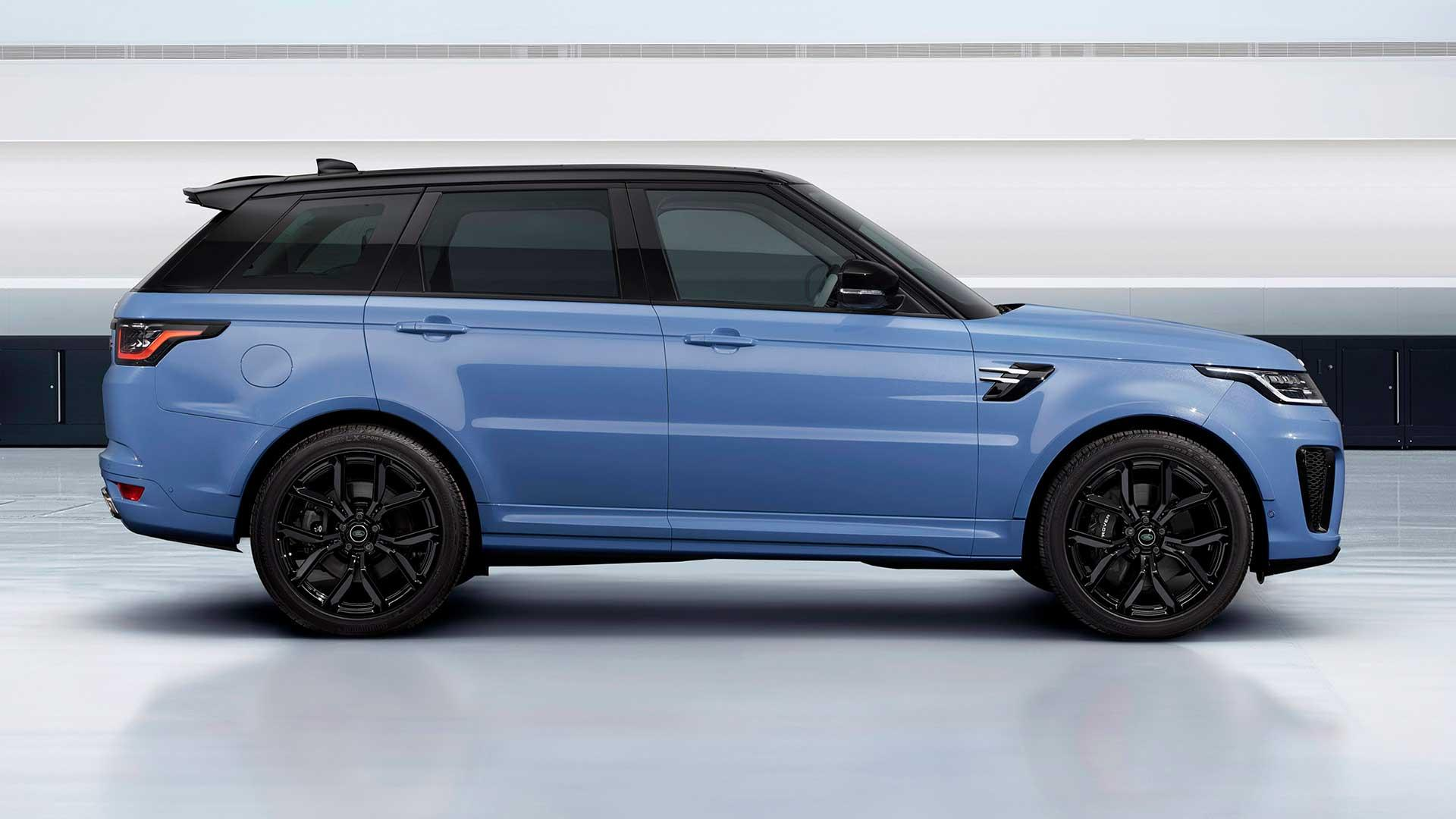 Zijkant Range Rover Sport SVR Ultimate Edition
